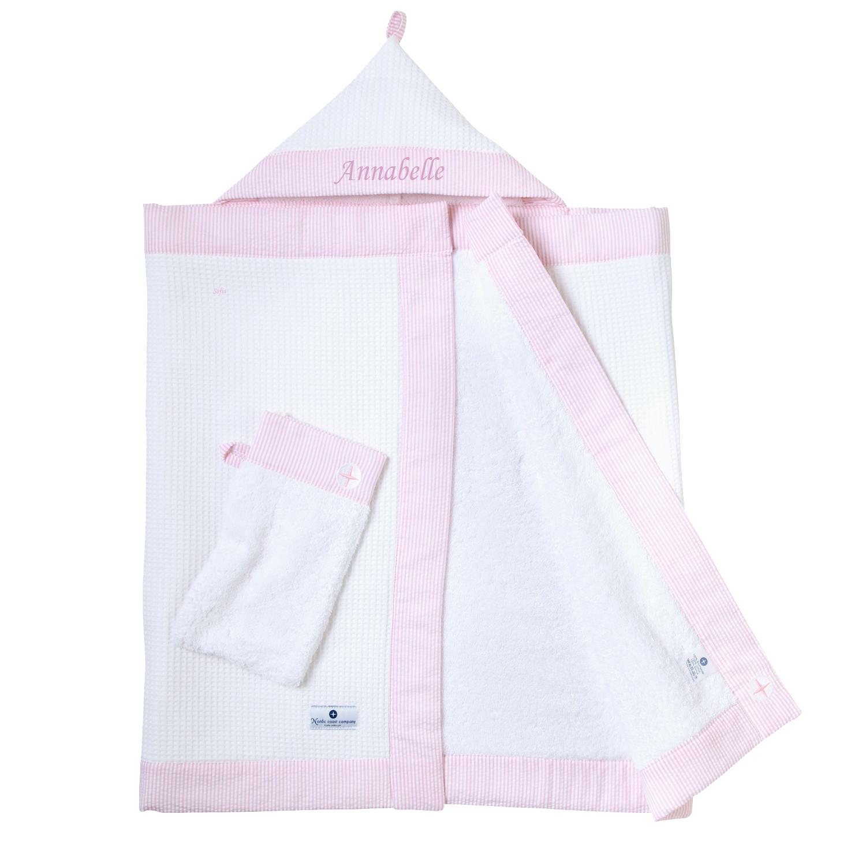 kapuzenhandtuch set rosa premium pinksky aus dicken frottee. Black Bedroom Furniture Sets. Home Design Ideas