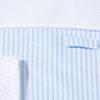 Wickelauflage blau gestreift abnehmbares handtuch