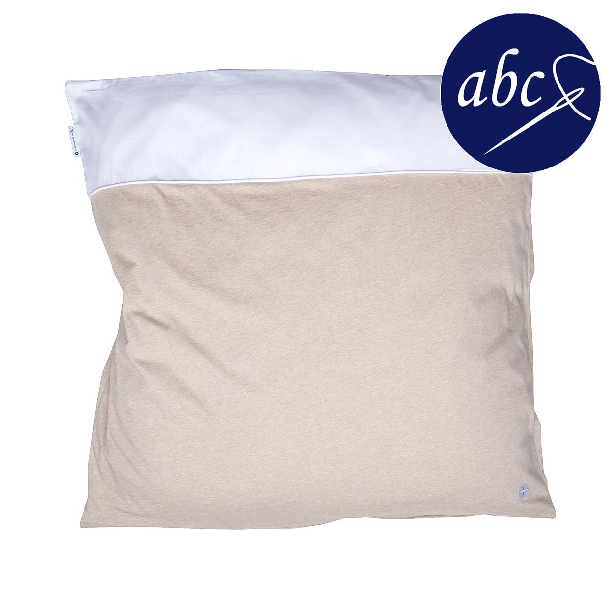 Babybettwäsche Beige In Größe 80 X 80 Cm Aus Reiner Baumwolle