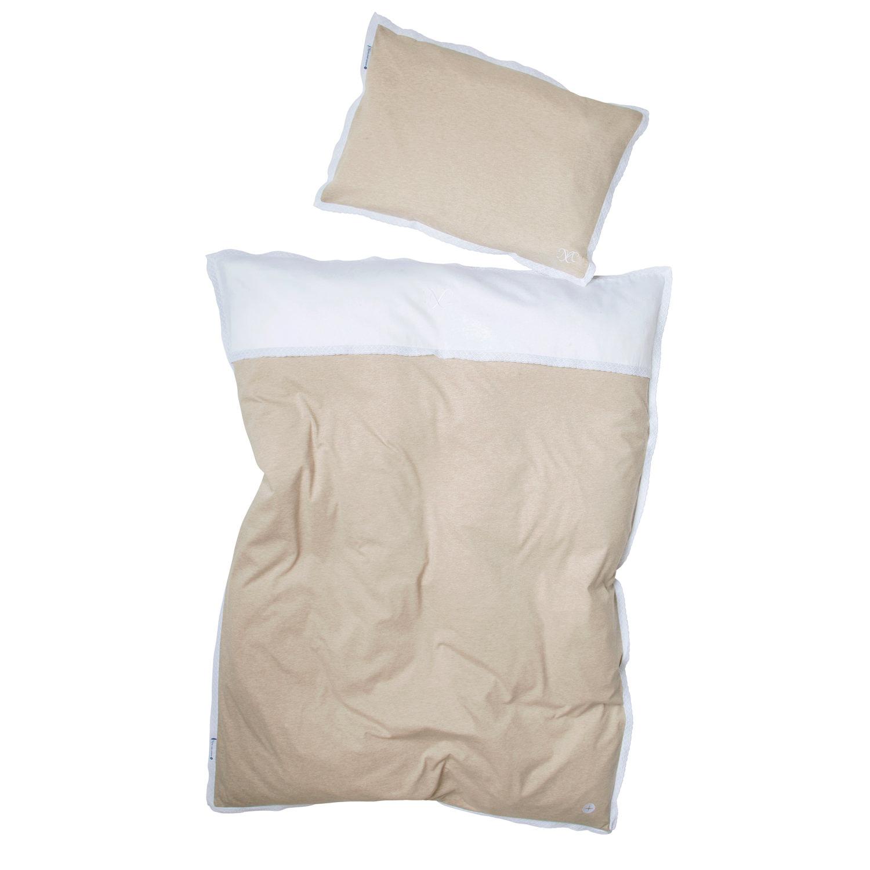 bettw sche beige spitze aus 100 baumwolle hochwertige. Black Bedroom Furniture Sets. Home Design Ideas