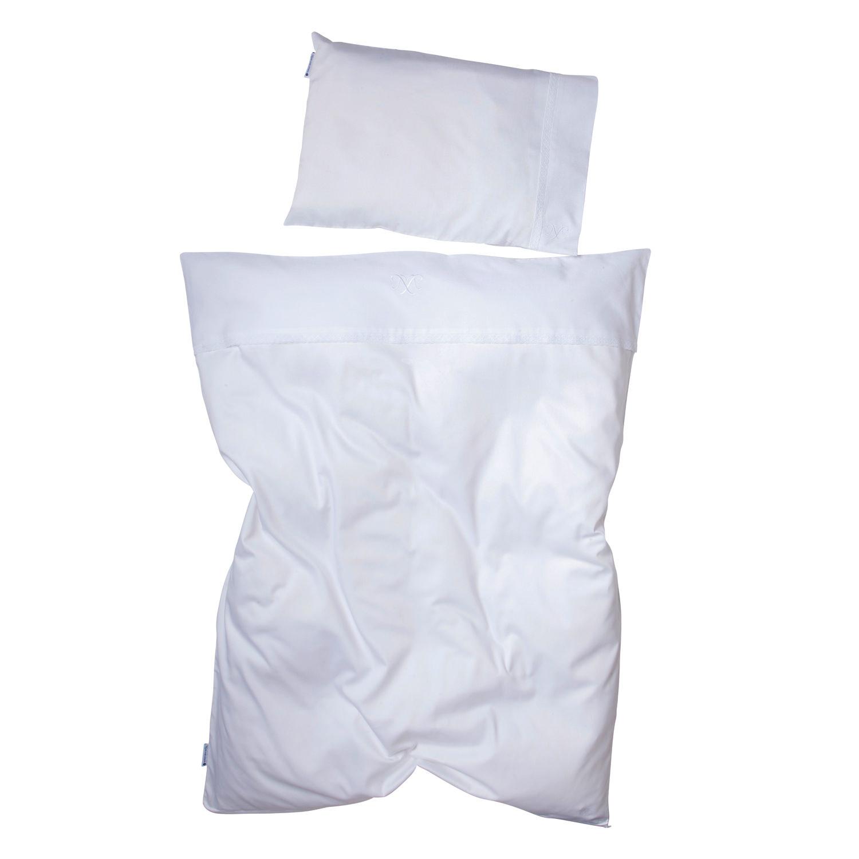 Kinderbettwäsche Weiß Spitze Hochwertige Qualität