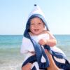 baby kapuzenhandtuch blau