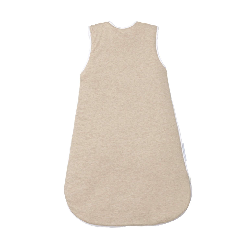 ganzjahres baby schlafsack beige f r neugeborene in baumwolle. Black Bedroom Furniture Sets. Home Design Ideas