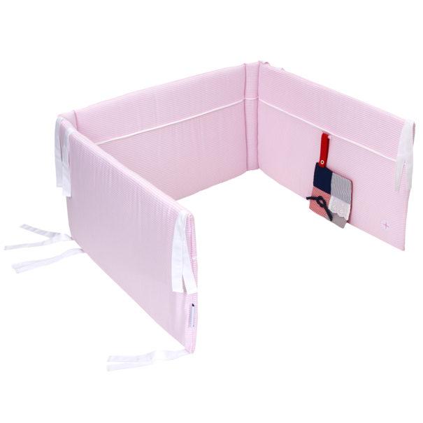 Baby bettnestchen rosa 10cm 120 cm