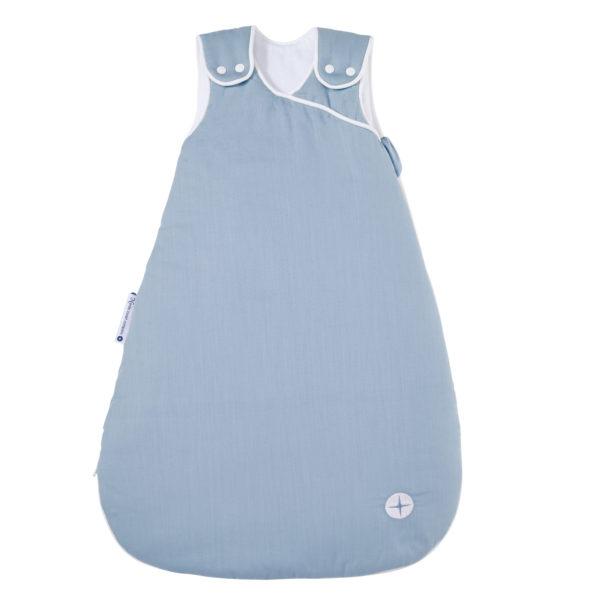 Baby Schlafsack Blau Grau