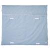 Wickelauflage Blau Grau Klettverschluss