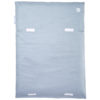 Wickelauflage Blau Grau ohne Handtuch schmal