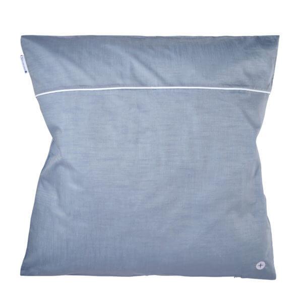Babybettwäsche Blau Grau